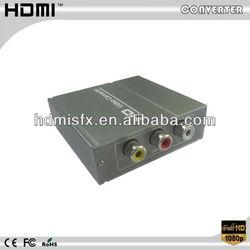 1080P AV CVBS 3 RCA to HDMI Video Composite Converter Adapter For HDTV DVD PS2 CCTV DVR Sky PS3 Xbox Wii