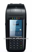 Windows CE OS Portable EFT POS payment terminal with MSR,ICR,Credit card,Fingerprint reader (MXVPOS)