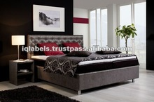 011 Box Spring Bed Mattress Leather PU Bed 2012 - Set Bedroom Top Design
