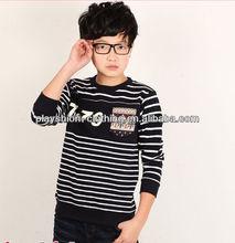 Wholesale Children Fashion Preppy Style Sport Long Sleeve T-shirt