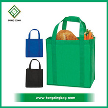 Bottom Reinforced Non Woven Grocery Shopping Tote Bag