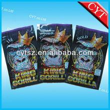 high quanlity small foil bulk zipper bags/potpourri bags
