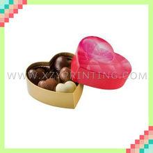 Fashion cardboard recycled high quality cheap favor Valentine chocolate box