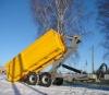 CE Stronga 2 Axles Farm Truck Trailer