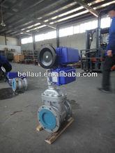 Cast steel motor operated gate valve