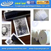 Eco solvent 180g 220g 230g 260g matte double sided photo paper for phot booth/photo kiosk/purikura for inkjet printer in rolls