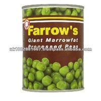 Farrow's Marrowfat Canned Peas