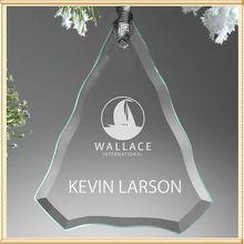 Glass Trigon Christmas Ornament Sale