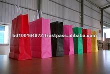 80/100GSM Flat Handle Foldable Shopping Bag