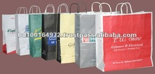 X-Large Eco-Friendly Twisted Handle Cheap Shopping Bags