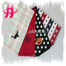 100% cotton embroidery/jacquard designs tea/kitchen towel wholesale