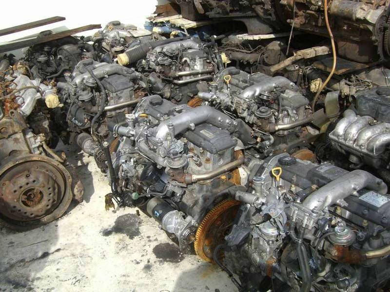 Usado del motor diesel toyota 1KZ Turbo