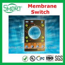 Smart bes~Sample available Lexan PC custom shapes membrane keys/keypads/keyboards /membrane switch supplier