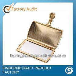 M32017I Wedding gift gold compact mirror/Purse compact mirror