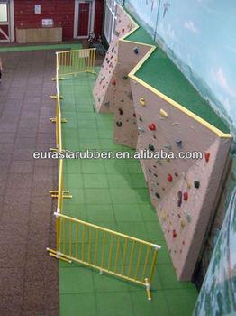 Indoor playground rubber flooring