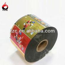 Plastic custom print flexible plastic packaging industry