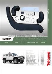 high quality 4wd car accessorie isuzu 4x4 snorkel SGMH3A for GM/Isuzu H3 Hummer