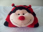 Pillow Pets Large Ladybug shape stuffed animal/toy Home Decor Bedding Accent