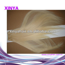 5a Grade White blonde hair extensions white women