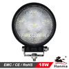 High quality 18W off-road led driving light for trucks,SUVs,Power Sports and ATVs,IP67,CE,Rohs,E-mark approval