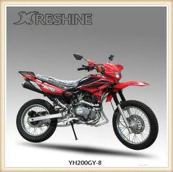 2013 YH200GY-8B hot model,100cc dirt bike sale for kids