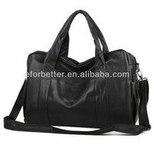 2013 Canvas zipper bags wholesale/PU tote bag/PU man bag FB-CHB021