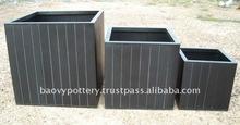 APY Galvanized zinc vase,Galvanized zinc watering can , Zinc Pot Planter, zinc planter for gardening and household