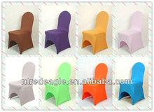 Spandex lycra wedding chair cover/cheap spandex chair cover/stretch chair cover