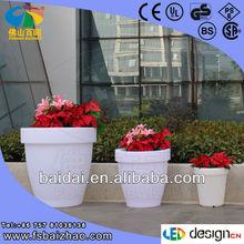 led mood light flower pot,color changing planter,color changing waterproof led flower pots