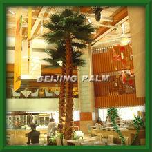 preserved washingtonia palm, artificial tree,plastic fiber glass tree