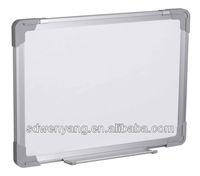 Aluminium Frame Stationary Magnetic Drywipe Writing Whiteboard
