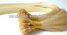 New arrival 18inch silk straight brazilian hair Italian glue I tip hair extension,accept escrow
