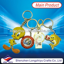 Fashion souvenir keychain finder with cute design and high quality for sale