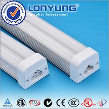 High power super brightness led linkable bracket double tube t5 led tube light high output