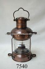 Nautical Anchor Lamp Copper Antique, nautical lamp