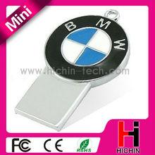 Metal mini style car brand 1gb usb thumb drive gift