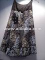 Coton à crocheter dentelle cou robe tunique robe bain de soleil sundress coton sommets.& chemisiers.