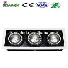 COB 10w 220v square downlight led grille 4*12