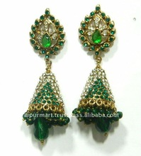 Indian Fashion Bollywood Crystal Jewelry Earrings