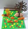 Foam and Tissue Fall Tree Craft Kits Kids Craft Kit Thanksgiving craft
