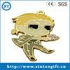 Best selling 2013 custom monkey metal keychain