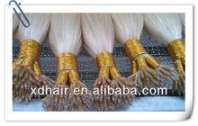 2013 Topsale pre-bonded nano ring remy human hair extension, italian keratin