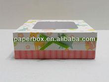 birthday large cookie box favor box paper box