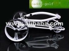 Albatross Electric Golf Trolley Caddy silver edition with USB connection