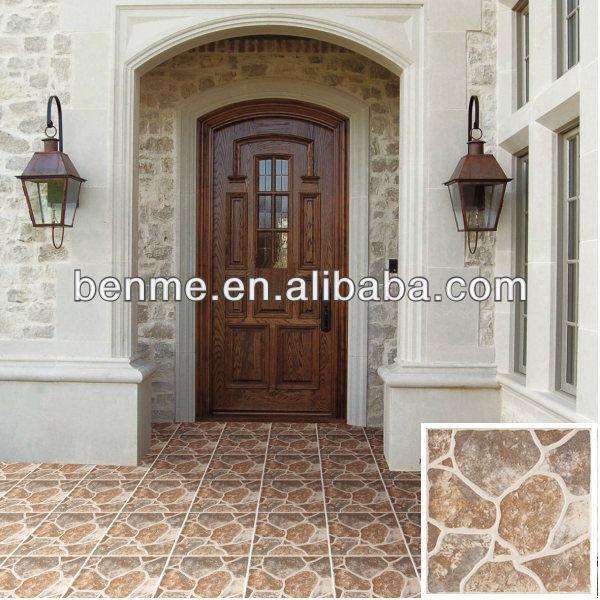 Azulejo Para Baño Antiderrapante: de telha cerâmica rústica imitação de pedra antiderrapante telha