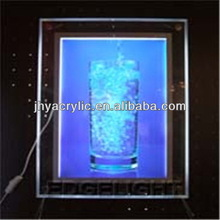 Modern most popular led vacuum form light box