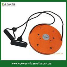 Fitness Basics Twist Board with Bands, Orange