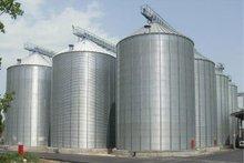 Flat-bottom silos