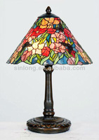 Mini Stained Glass Lamp Shade for table
