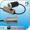 IP67 12V Low Voltage Walkover Uplight RGB Stainless Steel LED 12 volt recessed LED veranda deck post lighting